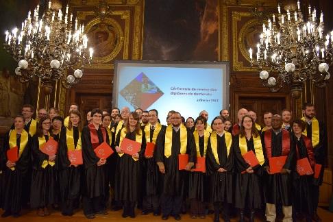 Cérémonie de remise des doctorats 02.02.2017 © EPHE