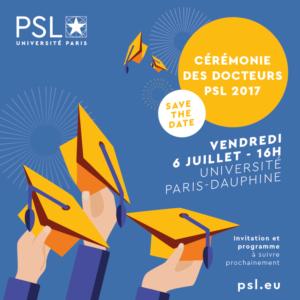 Première cérémonie des Docteurs PSL