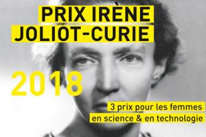 Prix Irène Joliot-Curie 2018