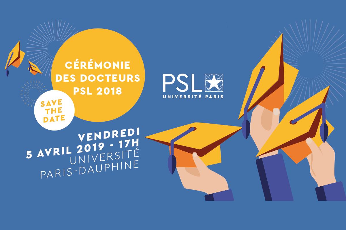 Deuxième cérémonie des Docteurs PSL