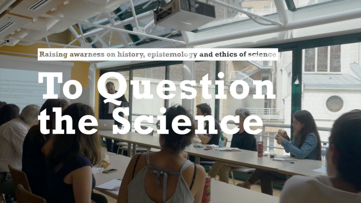 Raising awareness on History, Epistemology and Ethics of science