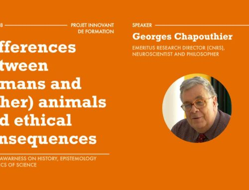 Differences between humans and (other) animals and ethical consequences