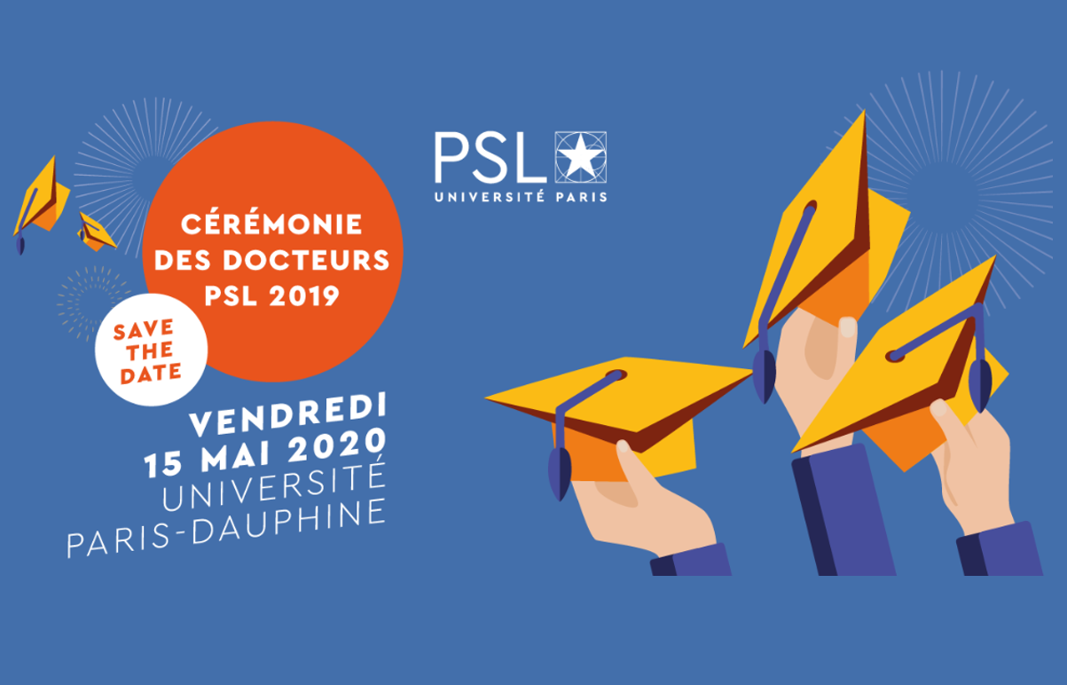 Ceremony of the PSL PhD 2019